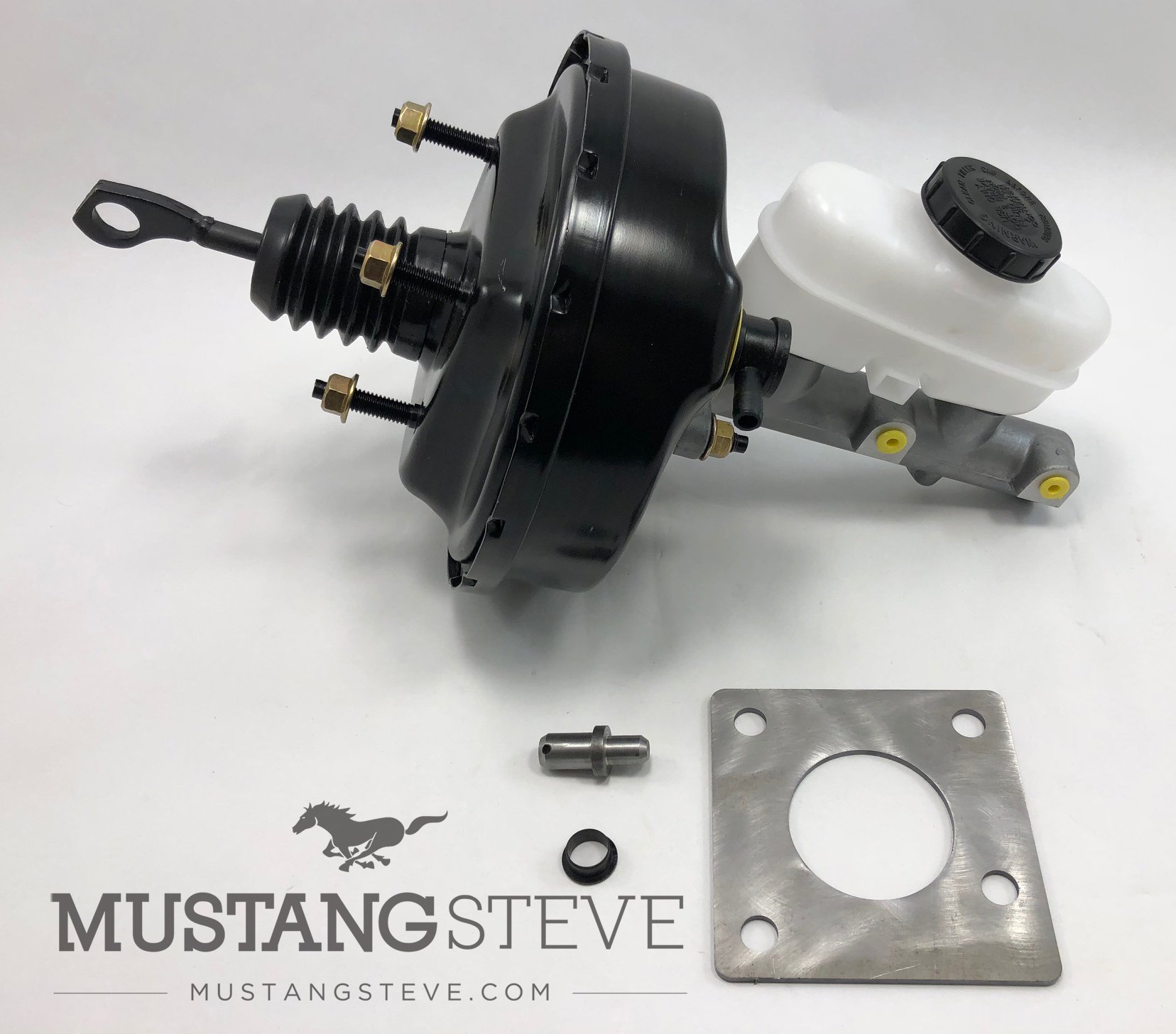 65-66 Mustang Power Brake Upgrade with All Wheel Disc Brakes