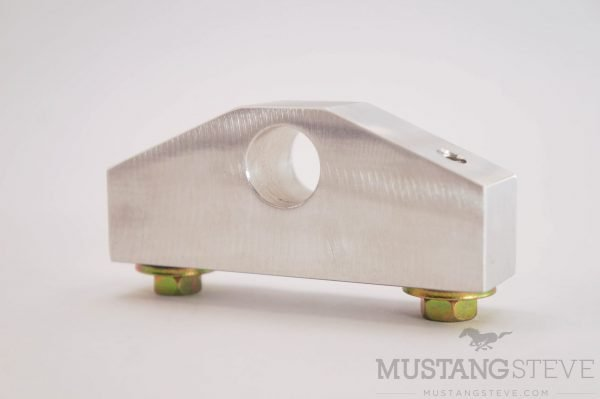 65-66 Mustang Non-Adjustable Billet Aluminum Clutch Cable Stop / Firewall Brace