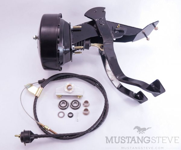Master Kit for 65-66 Mustang (Power Brakes & Cable Clutch System) Adjustable Cable Stop