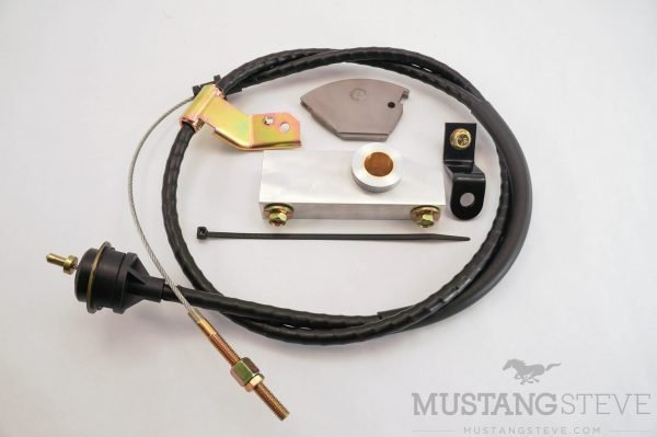 Cable Clutch Conversion Kit for 67-68 Mustang or Cougar