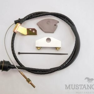 Cable Clutch Conversion Kit for 65-66 Mustang with Non-Adjustable Cable Stop