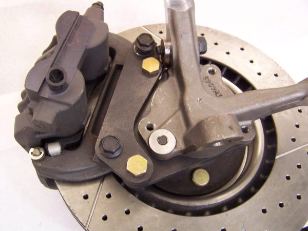 """Install 2005-2010 Mustang GT (S197) 12.5"""" Front Brakes on your MustangII or Heidt's Drop Disc Brake Spindles"""