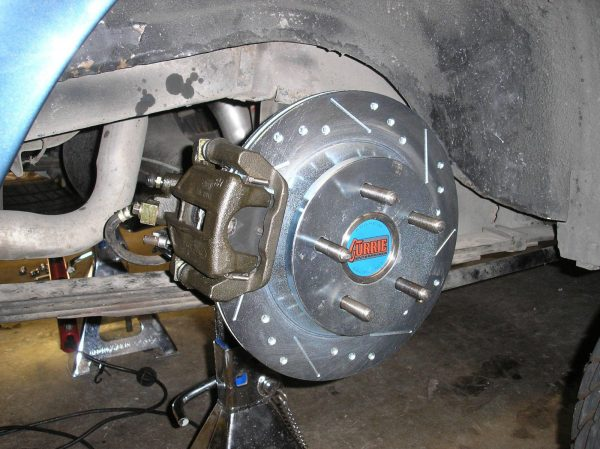 "Install 1994-2004 Cobra 11.65"" Rear Brakes on your Classic Ford (Small Bearing)"