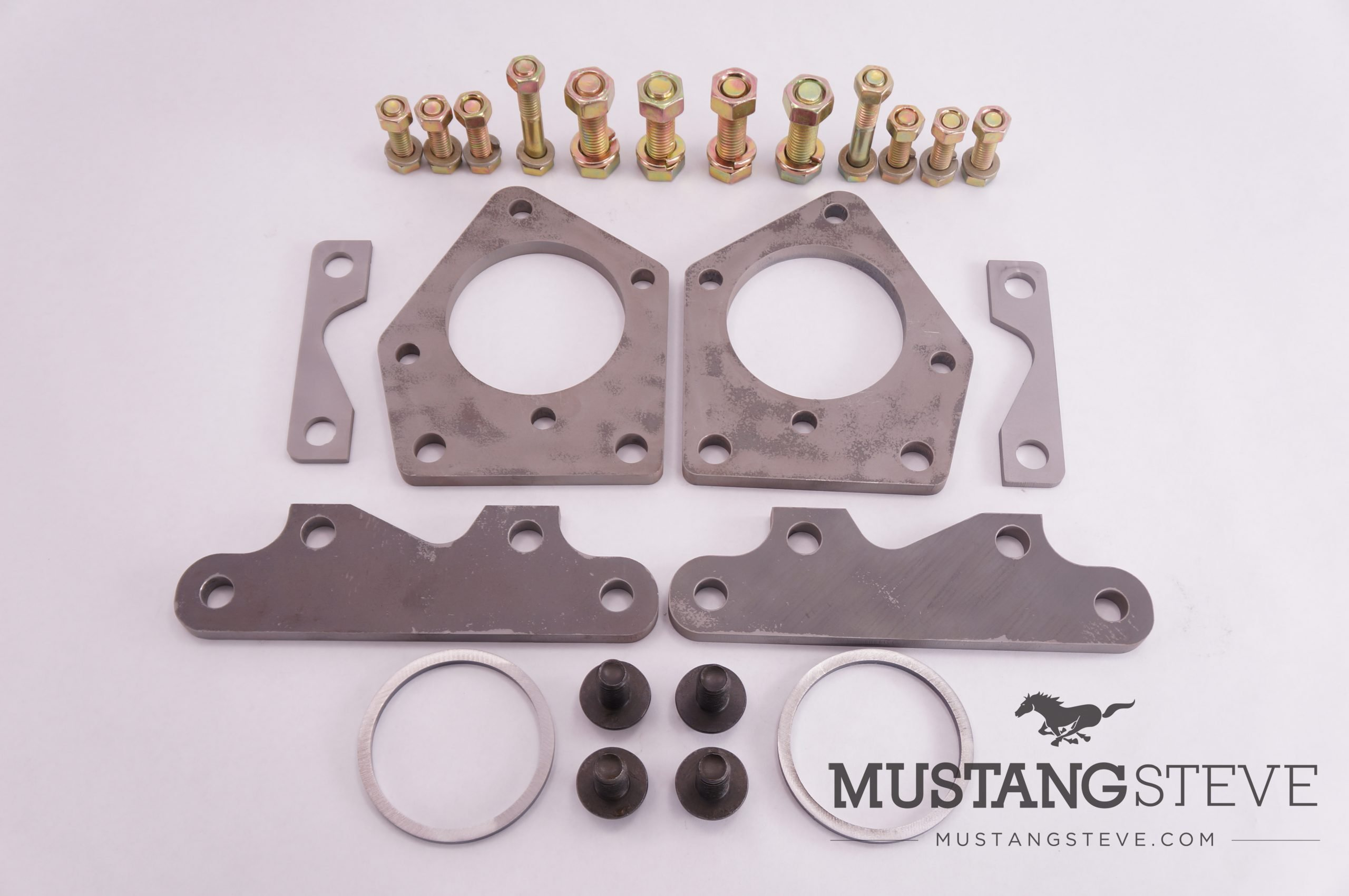 Install 2005-2014 Mustang GT (S197) Front Brakes on your Classic Ford