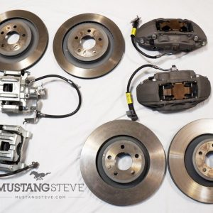 LARGE BRAKES All Wheel Disc Upgrade For Classic Fords
